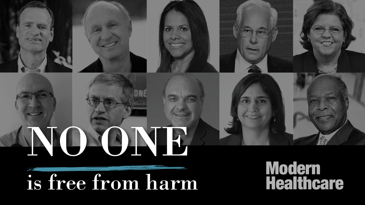 No one is free from harm: Quality and safety stories from