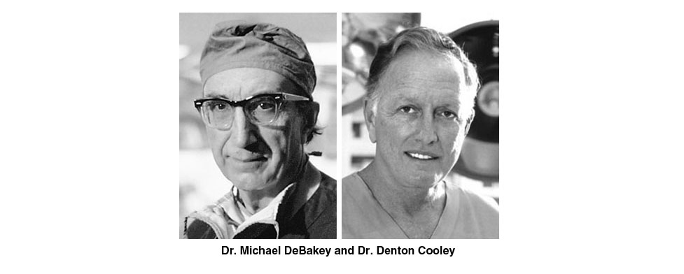 debakey and cooley