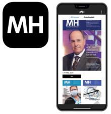 MH App Phone Screenshot