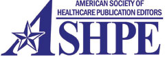 American Society of Healthcare Publication Editors logo