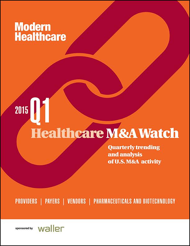 M&A Watch 2015 Q1